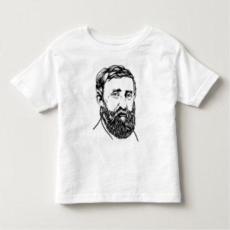 Henry David Thoreau portrait T-shirt
