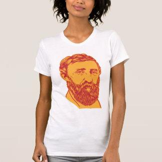 Henry David Thoreau portrait Tshirt
