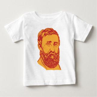 Henry David Thoreau portrait T-shirts