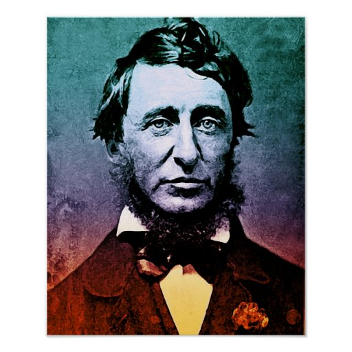 Henry David Thoreau Póster