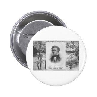 Henry David Thoreau Quote Button