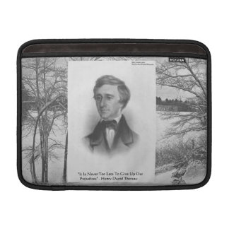 Henry David Thoreau Quote Sleeve For MacBook Air