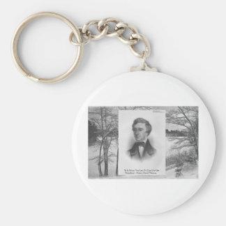Henry David Thoreau Quote Key Chain