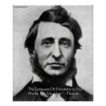Henry David Thoreau Quote Print