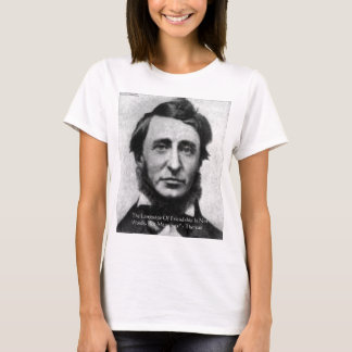 Henry David Thoreau Quote T-Shirt