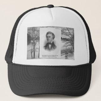 Henry David Thoreau Quote Trucker Hat