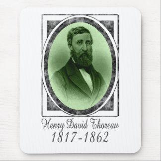Henry David Thoreau Tapetes De Ratón
