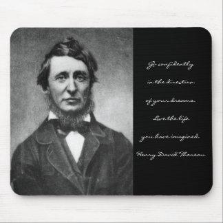 Henry David Thoreau Alfombrillas De Ratones
