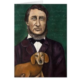 Henry David Thoreau Felicitaciones
