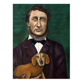 Henry David Thoreau Tarjetas Postales