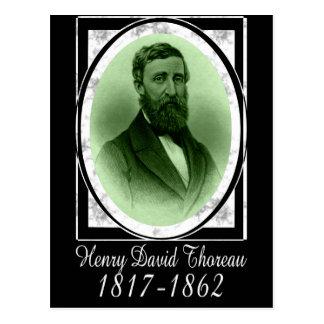 Henry David Thoreau Postal
