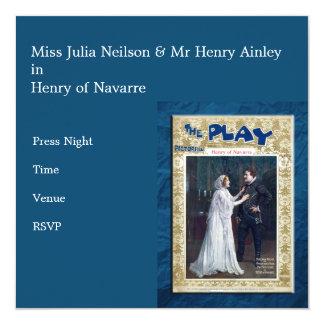 Henry de Navarra Invitaciones Personalizada
