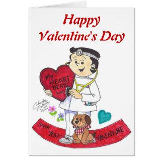 Henry doctor valentine, HappyValentine's Day Greeting Card