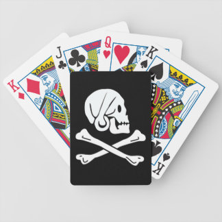 Henry Every Authentic Pirate Flag Bicycle Playing Cards