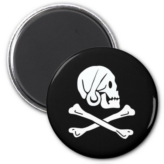 Henry Every authentic pirate flag Magnet