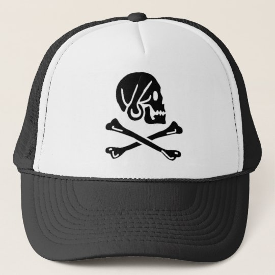 Henry Every authentic pirate flag Trucker Hat
