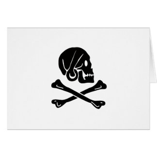 Henry Every Pirate Flag Card