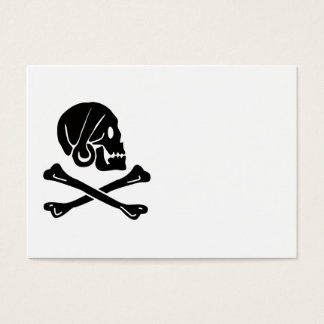 Henry Every Pirate Flag Design Business Card