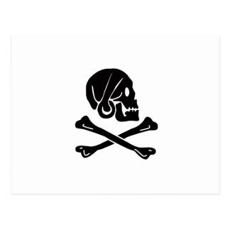 Henry Every Pirate Flag Postcard