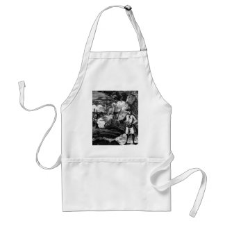 Henry Every Pirate Portrait Aprons