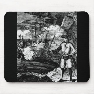Henry Every Pirate Portrait Mouse Pad