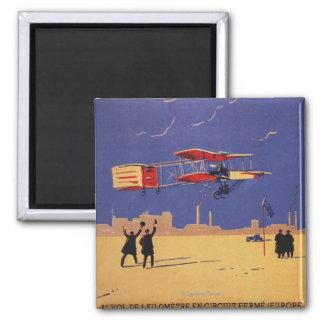 Henry Farman Flies at Issy-les-Moulineaux Magnet