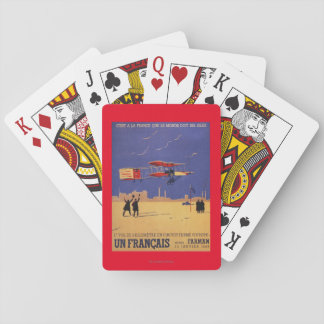 Henry Farman Flies at Issy-les-Moulineaux Playing Cards