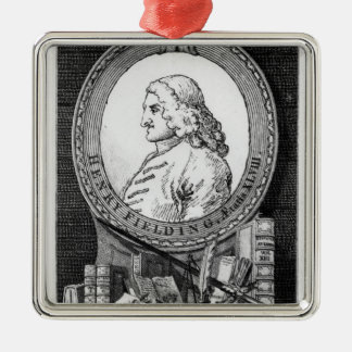 Henry Fielding  at the Age of Forty Eight Christmas Ornament