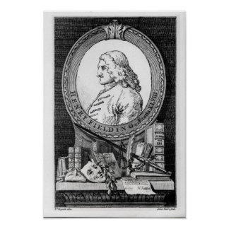 Henry Fielding  at the Age of Forty Eight Poster