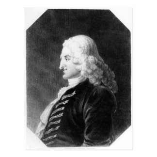 Henry Fielding  engraved by Samuel Freeman Post Card