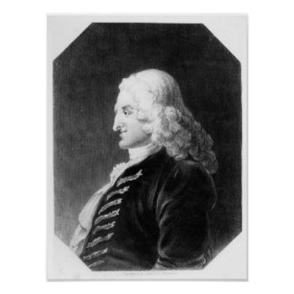 Henry Fielding  engraved by Samuel Freeman Poster