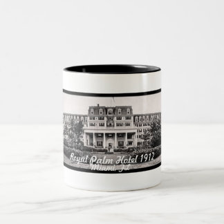 Henry Flagler's Royal Palm Hotel 1912 Two-Tone Coffee Mug