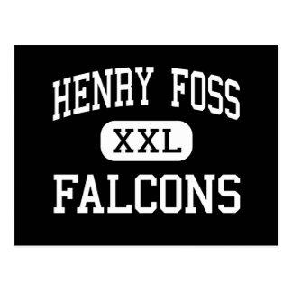 Henry Foss - Falcons - High - Tacoma Washington Postcards