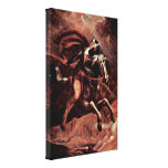 Henry Fuseli - Cerasimus Huon and flee Stretched Canvas Print