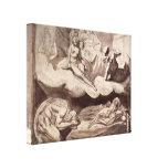 Henry Fuseli - Daughters of Pandareos Canvas Print
