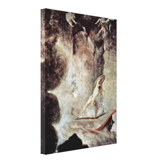 Henry Fuseli - In front of Scylla and Charybdis Gallery Wrap Canvas