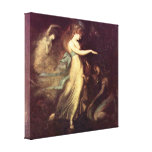 Henry Fuseli - Prince Arthur and Queen Canvas Print