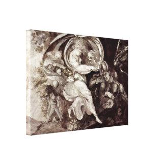 Henry Fuseli - Prince Arthur Canvas Print