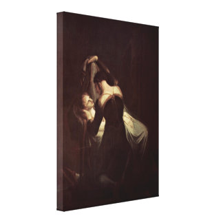 Henry Fuseli - Romeo at Juliets Deathbed Canvas Print