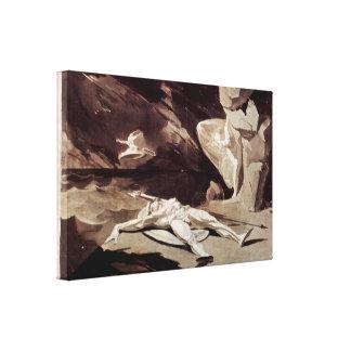 Henry Fuseli - The dead Achilles Canvas Print