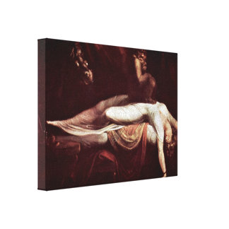 Henry Fuseli - The Nightmare Canvas Print