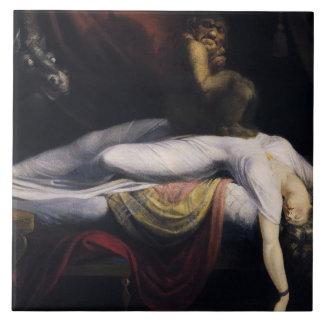 Henry Fuseli - The Nightmare Ceramic Tile