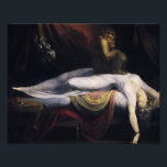 "Henry Fuseli - The Nightmare Photo Print<br><div class=""desc"">Henry Fuseli - The Nightmare - 1781 - oil painting</div>"