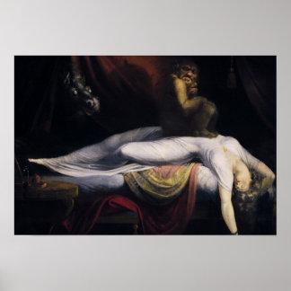 Henry Fuseli - The Nightmare Poster