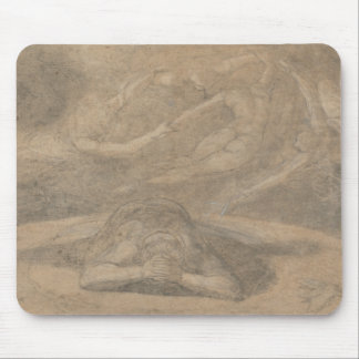 Henry Fuseli - The Peasant's Dream, Paradise Lost Mouse Pad