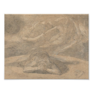 Henry Fuseli - The Peasant's Dream, Paradise Lost Photo Print