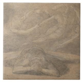 Henry Fuseli - The Peasant's Dream, Paradise Lost Tile