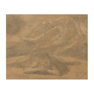 Henry Fuseli - The Peasant's Dream, Paradise Lost Wood Wall Decor