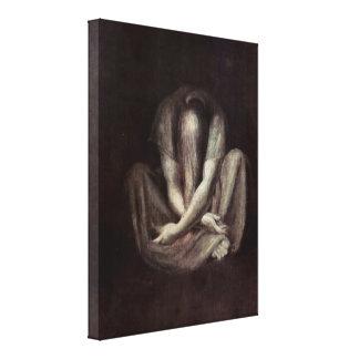 Henry Fuseli - The Silence Canvas Print