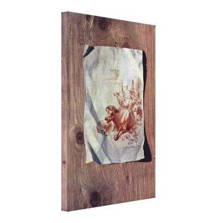 Henry Fuseli - Trompe-loeil Lona Estirada Galerias